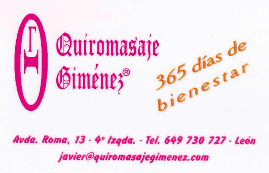 Quiromasaje Gimenez